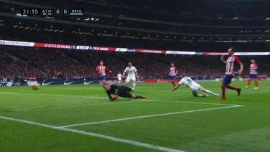 Was Kroos denied a penalty?