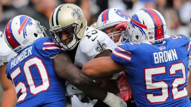 Saints 47-10 Bills