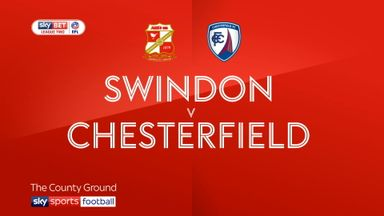 Swindon 2-2 Chesterfield