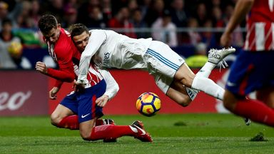 Atletico Madrid 0-0 Real Madrid