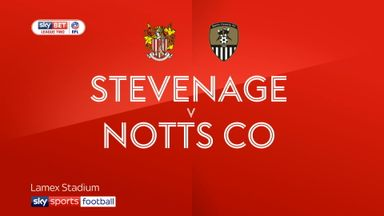 Stevenage 1-1 Notts County