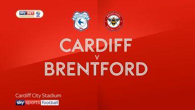 Cardiff 2-0 Brentford