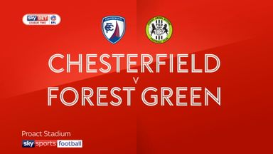 Chesterfield 3-2 Forest Green
