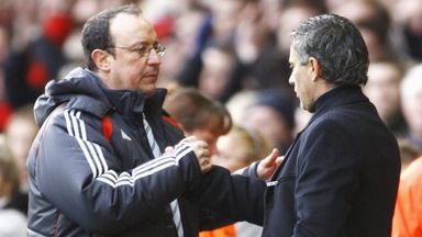 Rafa plays down Jose feud