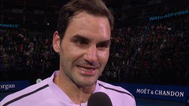 Federer reaches semis