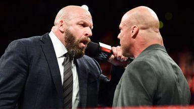 Triple H returns to join Team Raw