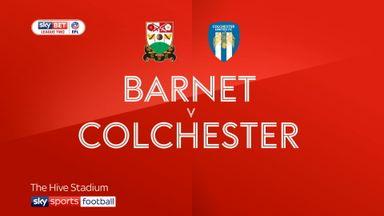 Barnet 0-1 Colchester