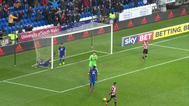 Brentford's horror miss!