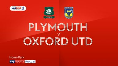 Plymouth 0-4 Oxford