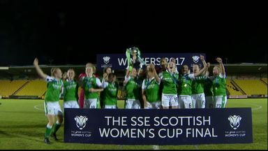 Hibernian Ladies complete double