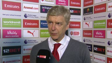 Wenger praises Arsenal performance