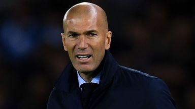 Zidane admits Real have problems
