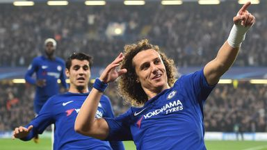'Conte making a statement with Luiz'