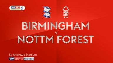 Birmingham 1-0 Nott'm Forest