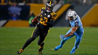 Titans 17-40 Steelers