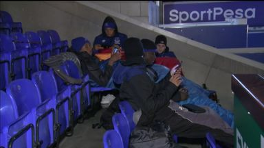 Everton's homeless intitiative