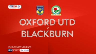 Oxford 2-4 Blackburn