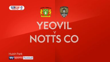 Yeovil 1-1 Notts County