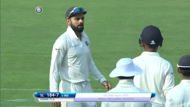 India v SL: T2 D1 highlights