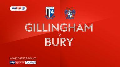 Gillingham 1-1 Bury