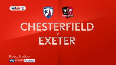 Chesterfield 1-0 Exeter