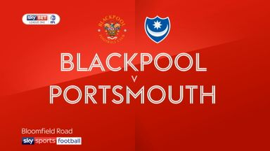 Blackpool 2-3 Portsmouth