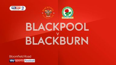 Blackpool 2-4 Blackburn