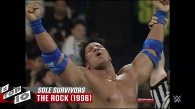 Best Survivor Series sole survivors
