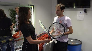 Federer: Bieber would make my wife happy!