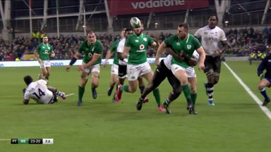 Healy makes impact for Ireland