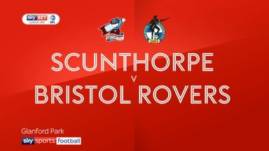 Scunthorpe 1-0 Bristol Rovers