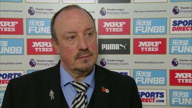 Benitez: Defeat hard to take