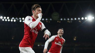 Arsenal 5-0 Huddersfield