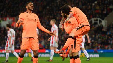 Stoke 0-3 Liverpool