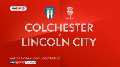 Colchester 1-0 Lincoln