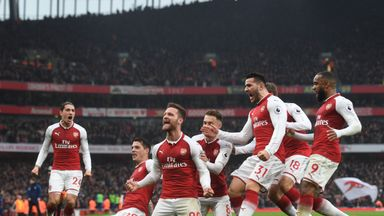 Arsenal 2-0 Tottenham