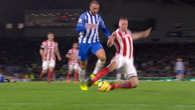 Brighton denied clear penalty?