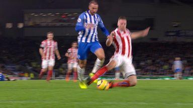Brighton denied clear penalty?