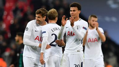 Spurs stars salute Real victory