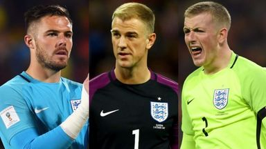 MNF: Who should England have in goal?