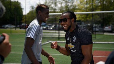 WATCH: Paul Pogba versus Josh Norman in 'Game Recognise Game' challenge