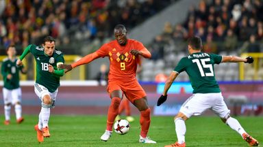 Lukaku equals Belgium record