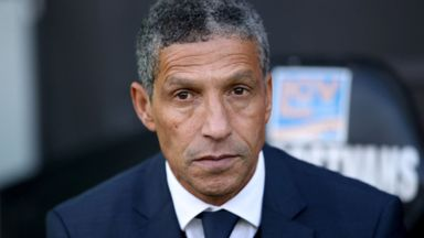 Hughton: Brighton prefer underdogs tag