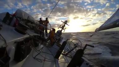 Volvo Ocean Race: Tricky conditions