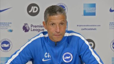 Hughton: We can beat Man Utd