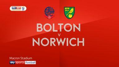Bolton 2-1 Norwich