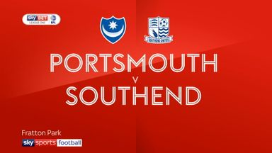 Portsmouth 1-0 Southend