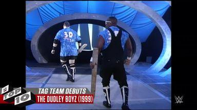 WWE Top 10: Tag Team Debuts