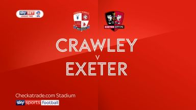 Crawley 3-1 Exeter