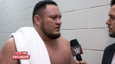 Samoa Joe: Team Raw has the edge